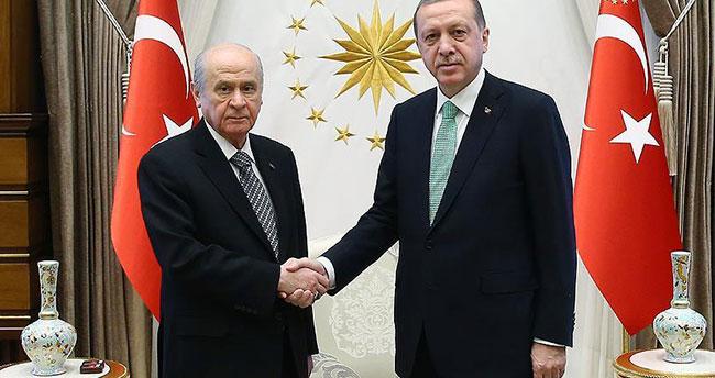 Cumhurbaşkanı Erdoğan ile Bahçeli'nin görüşeceği tarih belli oldu