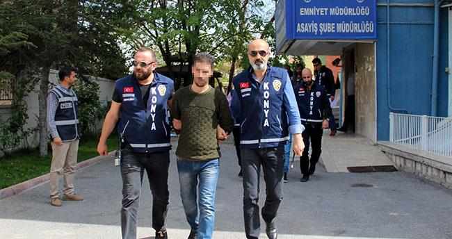 Konya'da enişte ve kayınbiraderlerin kavgasında tutuklama