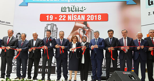 Konya 2. Yapı Fuarı açıldı
