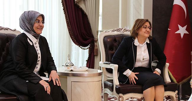 Başkan Şahin'den Başkan Toru'ya ziyaret
