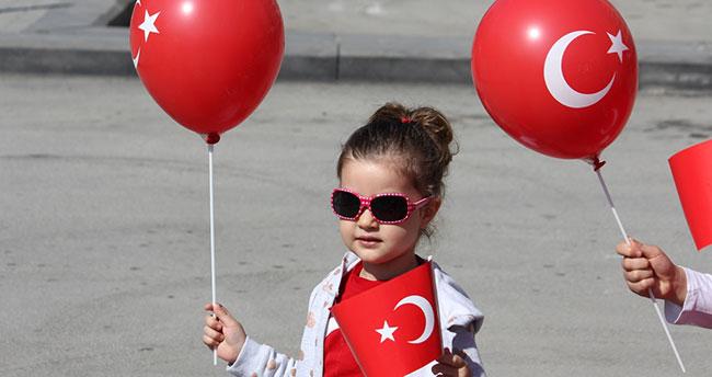 Konya'da 23 Nisan Ulusal Egemenlik ve Çocuk Bayramı kutlanıyor