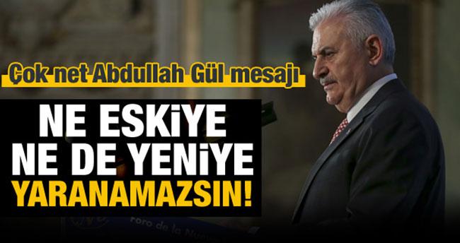 Başbakan Yıldırım'dan Gül'ün adaylık iddiasına ilişkin açıklama