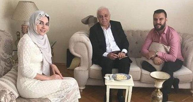 Nihat Hatipoğlu, Alişan ve Buse Varol'un nikahını kıydı