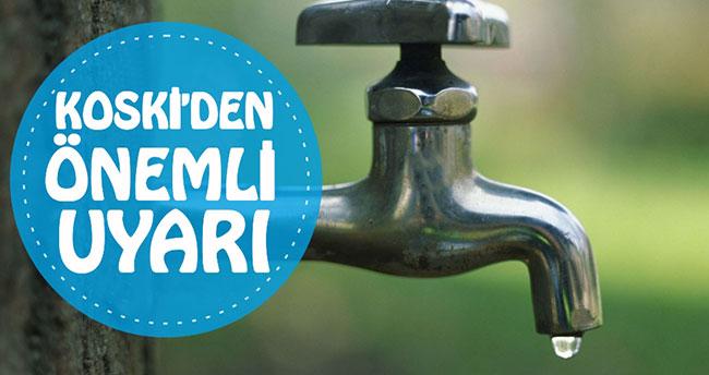 Konya'da su kesintisi – 6 Mayıs Pazar Sular Nerede Kesilecek?
