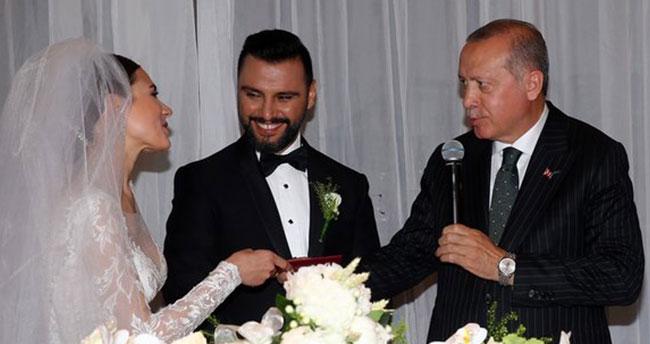 Cumhurbaşkanı Erdoğan Alişan'ın düğününe katıldı! .
