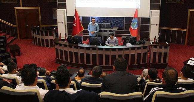 Karatay Belediyesi'nde iş güvenliği semineri gerçekleştirildi