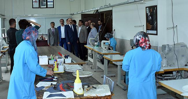 Başkan Altay, Aykent Sanayi Sitesi'nde esnaflarla buluştu