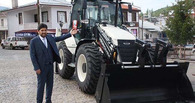 Derbent Belediyesi araç filosuna yeni araç