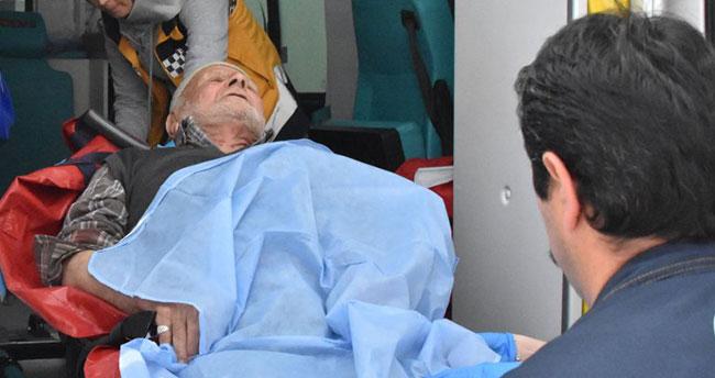 Konya'da silahlı kavga! Oğlu ve babasını silahla vurdu