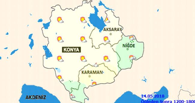 Ramazan'da Konya'da hava nasıl olacak?