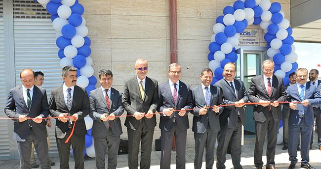 Konya Hava Kargo ve Geçici Depolama Alanı hizmete açıldı