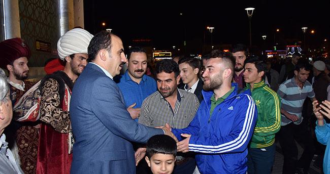 Konya'da Ramazan Büyük Coşkuyla Başladı