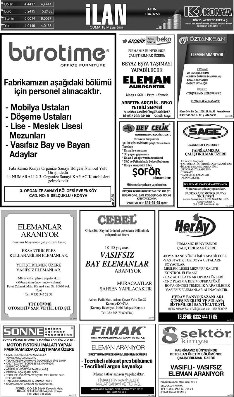 18 Mayis 2018 Yeni Meram Gazetesi Sayfa 5 12 Yeni Meram