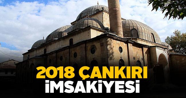 Çankırı İmsakiye 2018 sahur ve iftar vakti!