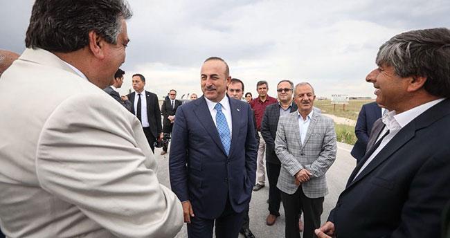 Bakan Çavuşoğlu Cihanbeyli'de