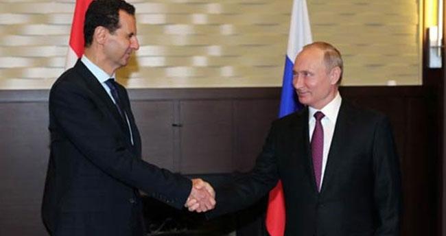 Putin ile Esed Soçi'de bir araya geldi