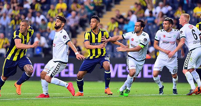 Fenerbahçe 3-Konyaspor 2