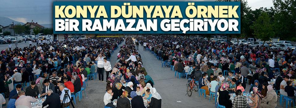 Konya Dünyaya Örnek Bir Ramazan Geçiriyor