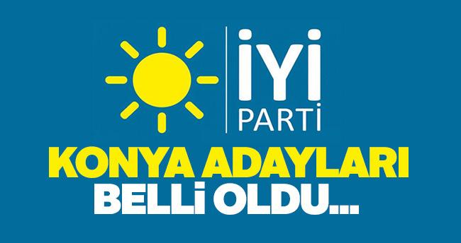 İYİ Parti Konya Milletvekili aday listesi belli oldu!