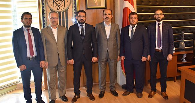 TÜMSİAD'dan Başkan Altay'a ziyaret