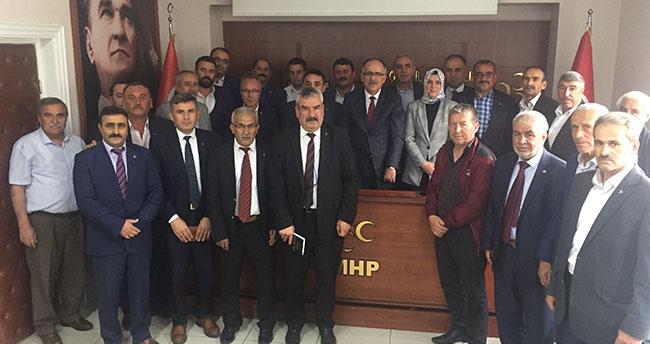MHP il başkanlığında istişare toplantısı