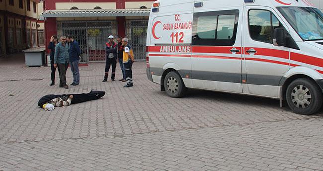 Sokak ortasında ölü bulundu
