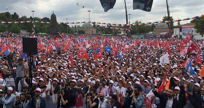 Konya Erdoğan'ı bekliyor!