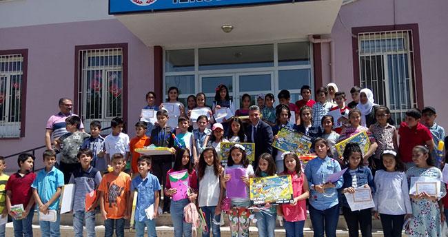 Öğrencilere Karne Hediyesi Konya PTT'den