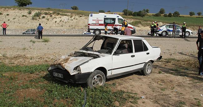 Konya'da 2 otobil çarpıştı: 7 yaralı