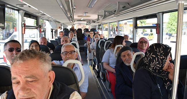 Konya Havalimanı'nda oy verme işlemi devam ediyor