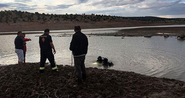 Konya'da baraj gölüne giren kişi boğuldu