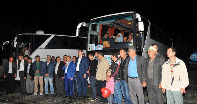 Akşehir'de dereceye giren öğrencilere Çanakkale ve Konya gezisi