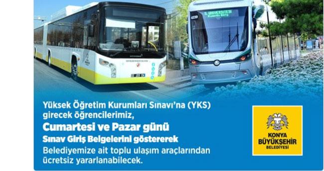 Konya'da sınava girecek öğrencilere ulaşım sürprizi!