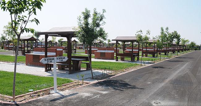 Konya'da bir ilk olan Karaaslan Piknik Bahçesi açıldı