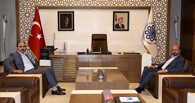 Başkan Altay'dan Başkan Pekyatırmacı'ya ziyaret
