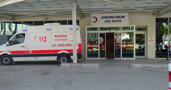 Konya'da gıda zehirlenmesi şüphesiyle 150 kişi hastaneye başvurdu