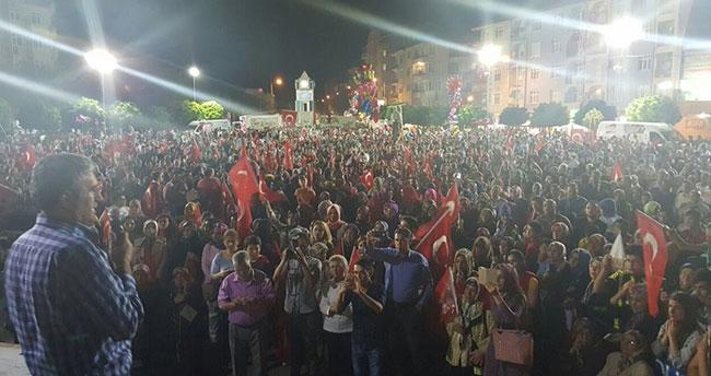 """""""15 Temmuz demokrasinin zaferi, güçlü Türkiye şehitlerin eseri"""""""