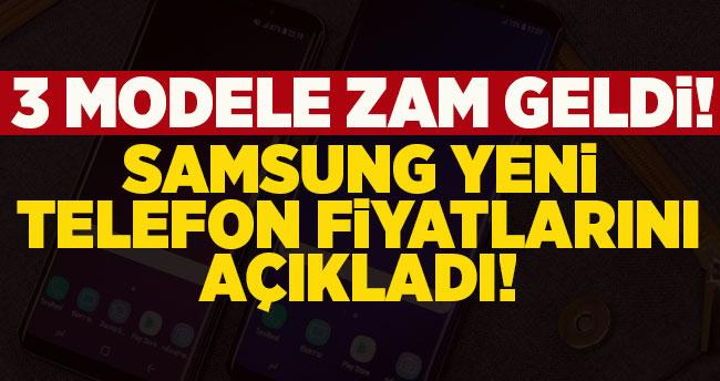 Samsung zamlı telefon fiyatlarını açıkladı