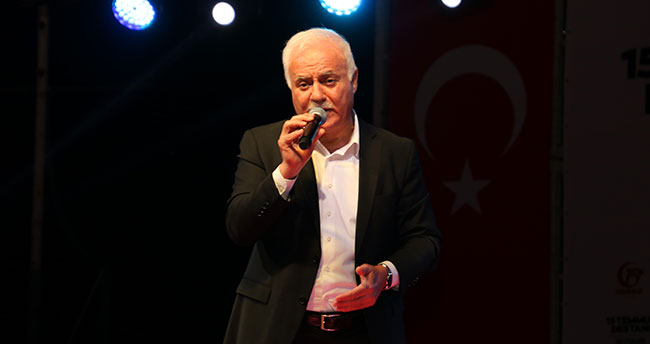 """Prof.Dr.Hatipoğlu: """"15 Temmuz'da millet 'yeter artık'dedi"""""""