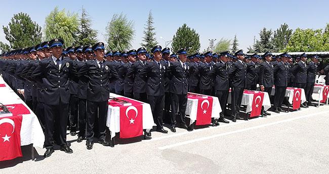 Ereğli'de 346 polis adayı mezun oldu