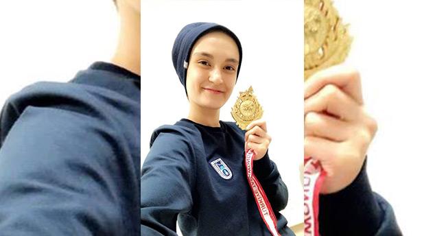Beyşehirli milli sporcu Türkiye şampiyonu oldu