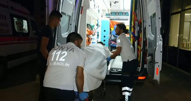 Konya'da yanlışlıkla arkadaşını vuran genç gözaltına alındı