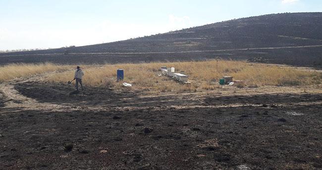Konya'da 7 bin 500 dekar alan yandı!