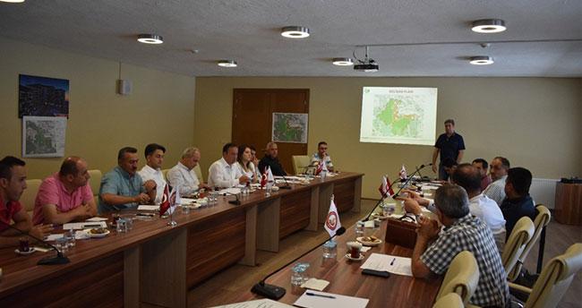 Kuğulu Tabiat Parkı Geliştirme Toplantısı Seydişehir'de yapıldı