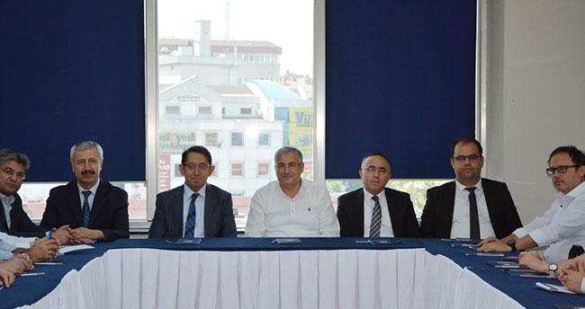 Konya SMMM Odası ile Konya Vergi Dairesi istişare toplantısı düzenledi