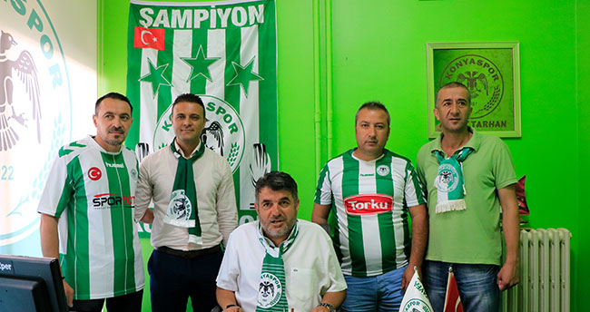 Anadolu Kartalı Konyaspor Taraftarlar Derneği açıldı