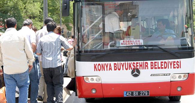 Konya Büyükşehir Belediyesi'nden toplu ulaşım duyurusu
