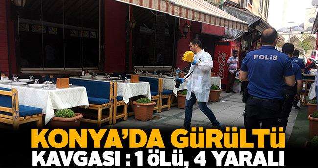 Konya'da gürültü tartışması kanlı bitti: 1 ölü, 4 yaralı