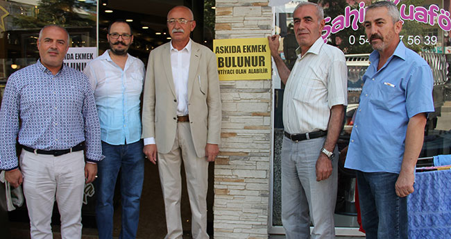 'Askıda ekmek' projesi Seydişehir'de