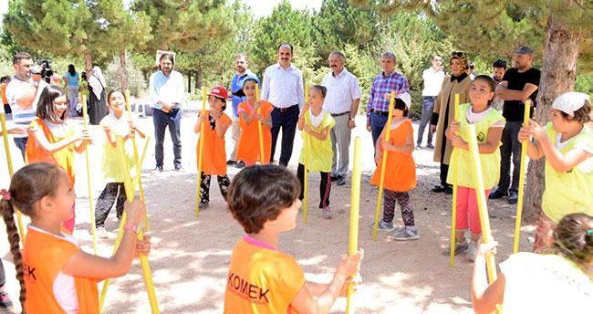 Başkan Altay Yaz Kampındaki Öğrencilerle Buluştu